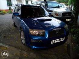 Foresters 2007 cross sport Automatic turbo not S.T.I but S.T.I specs