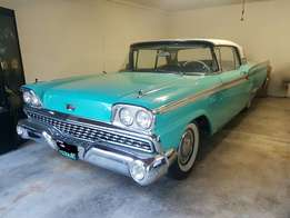 1959 Ford Galaxie Fairlane 500 Skyliner Cabriolet immaculate