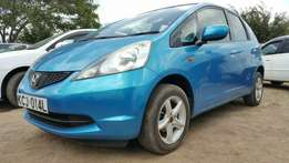 Honda Fit (KCJ), Newshape, Blue, Year 2009, 1300cc Automatic