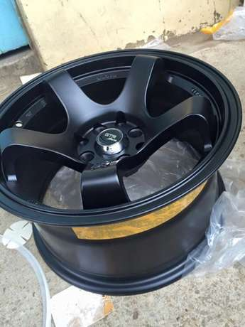 Brand new offset rims size 15inch in malt black Nairobi CBD - image 1