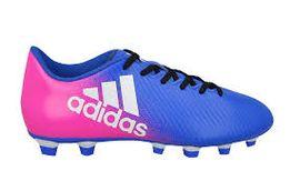 Buty piłkarskie korki X 17.3 Primemesh FG Adidas (biało