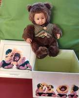 Anne Geddes Boxed Doll and one unboxed