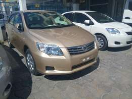 Toyota Axio beige at 1.25m