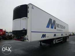 Chereau Technogam 3 Axle Saf With Carrier Vector 1800mt - For Import