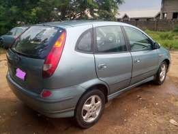 Manual Nissan Almera Tino for sale
