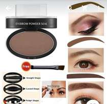 Eyebrow stamp with 3 shapes