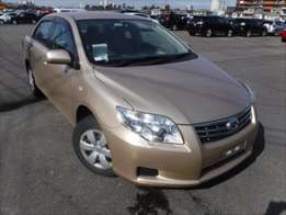 Foreign Used Toyota Axio 2010 Beige For Sale Asking Price 1,200,000/=