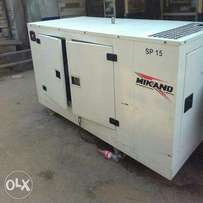 15KVA Perkins Generator standerd ok with guarantee