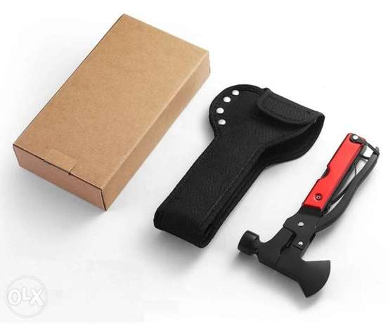 14in1 Military Grade Tactical Multitool Survival Gear Hammer Axe Knife