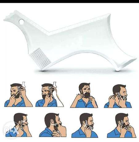 Transparent Men's Beards Combs
