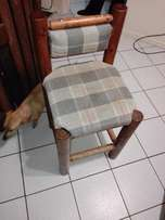 For sale: Log bar chairs. Got 2. Both for R400