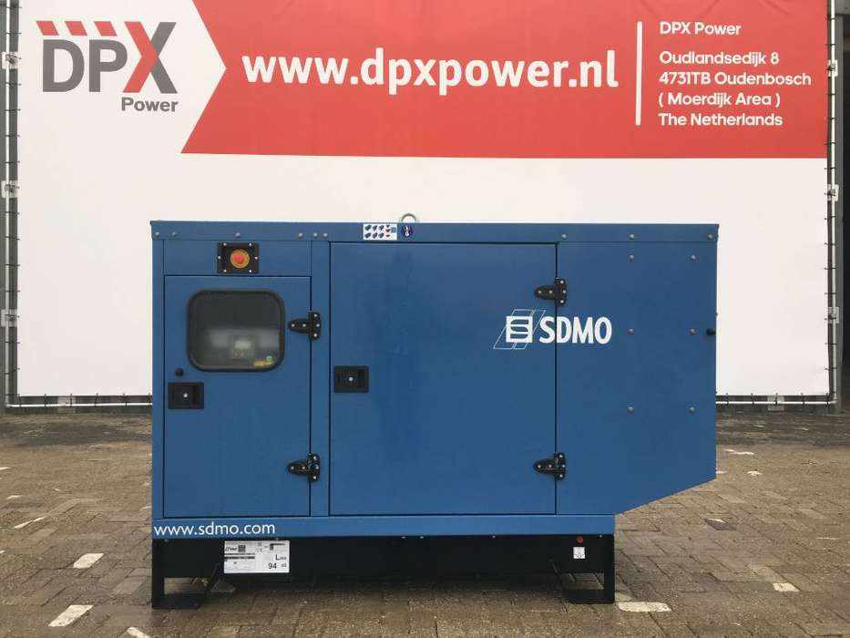 Sdmo J66 - 66 kVA Generator - DPX-17103 - 2019 te koop | Tradus