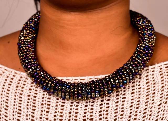 Beaded Rope Necklace at Wholesale Price City Centre - image 7