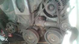 Engine V6, gear box and starter x2 Camry
