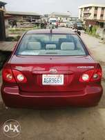 Toyota corolla very clean in nd out buy nd use just serious buyer on