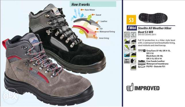 Steelite all weather safety hiker boot