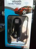 Bluetooth car modulator new in shop free delivery within nrb.