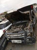 Isuzu DMAX kBP with damaged front part