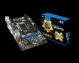 1150 MSI H81M-P33 mainboard for sale
