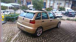 Polo Playa R38000 start nd go very neat in and out