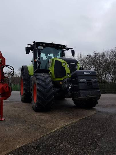 Claas axion 810 - 2015