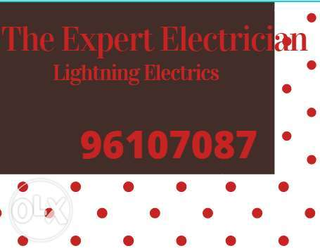 Very professional electrician available any time day and night,