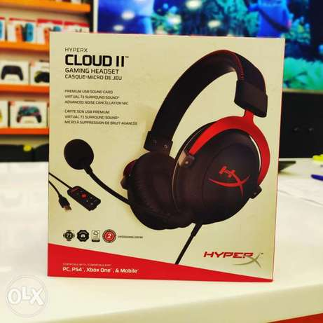 HyperX Cloud 2 Available in GamerZone Sohar Branch