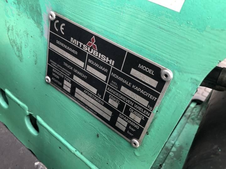 heftruck MITSUBISHI FG25 triplo480 freelift sideshift v... - 1998 - image 13
