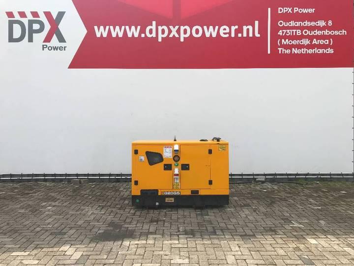 JCB G20QS - 20 kVA Generator - DPX-11865 - 2017
