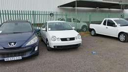 2004 VW Polo 2L ex jhb R55900