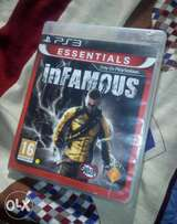 Ps3 cd game{infamous}