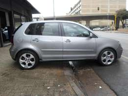 2007 model polo 1.8 gti hatchback,silver grey,for sale
