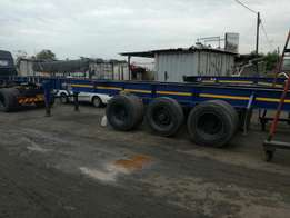 12M tri axle skeleton trailer