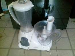 Deluxe food processor with blender 600w