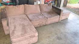 Couch, L shaped, used