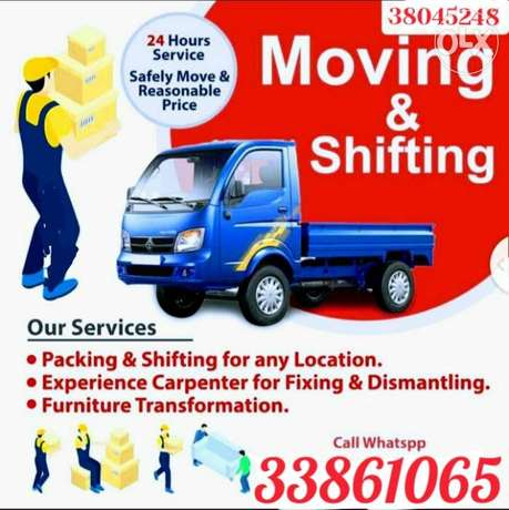 Furniture shifting and fixing