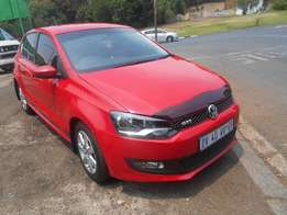 Polo 6 1.4 2013 model Red in color 76000km R135000