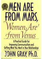 John Gray Men Are from Mars, Women Are from Venus