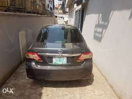 Exactly One Year Used 2010 upgraded Toyota Corolla First body