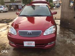 Super clean Tokunbo Toyota Corolla 2004 Sport