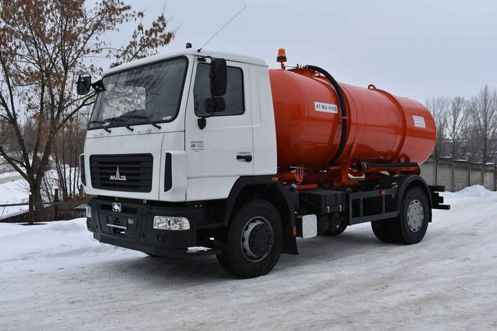 Maz new at vo 0103 na shassi  5340c2 vacuum truck - 2019