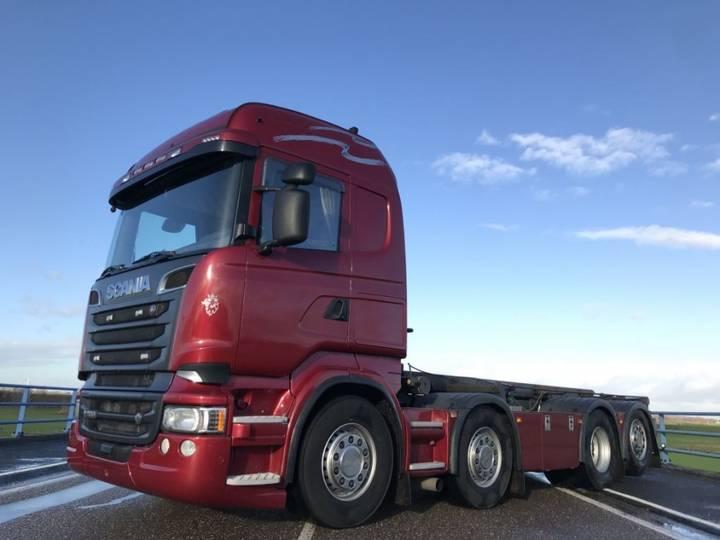 Scania R500 cablesystem v8 8x2 kabelsysteem - 2013