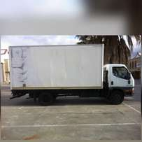 removal and delivery truck hire