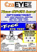 FREE Eye Test Opening Special