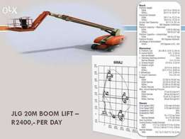 Cherry pickers, Boom lifts, Scissor lifts, Man lifts for Hire/Sale