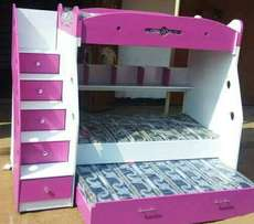 Kids castle and beds. that are durable and affordable