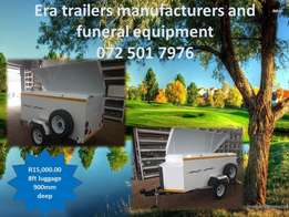 8ft luggage trailer for sale 900mm deep sabs approved