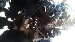 Mazda 626 engine and gearbox