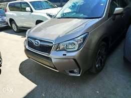 Newest shape of Subaru Forester 2012 model. KCP
