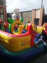 small and unique bouncing castle for hire